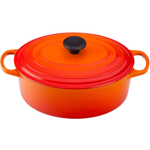 Flame Oval French Oven, 4.7L