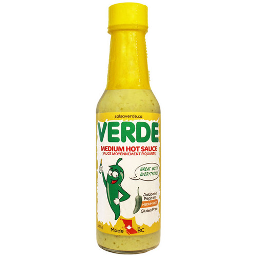 Salsa Verde - Medium Hot Sauce, 147ml