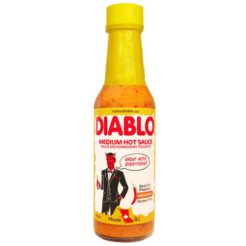 Salsa Diablo - Medium Hot Sauce, 147ml