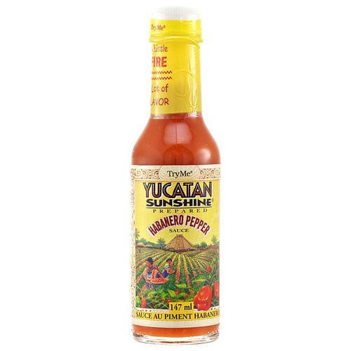 Yucatan Sunshine Hot Sauce, 147ml