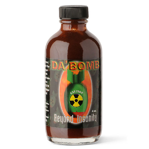 Da' Bomb Insanity Hot Sauce, 113g