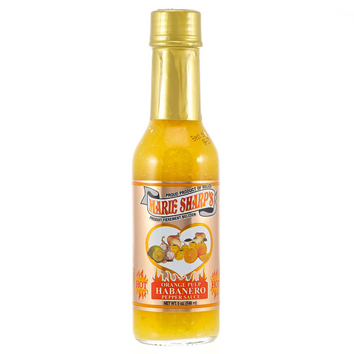 Orange Pulp Habanero Hot Sauce, 148ml