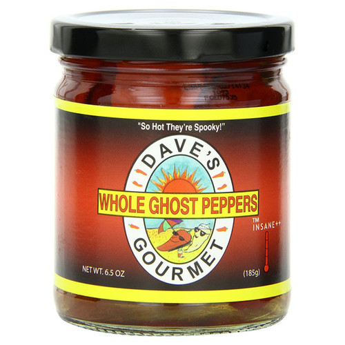 Whole Ghost Peppers, 6.5oz