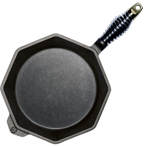 Octagonal Skillet - Cast Iron, 10-in