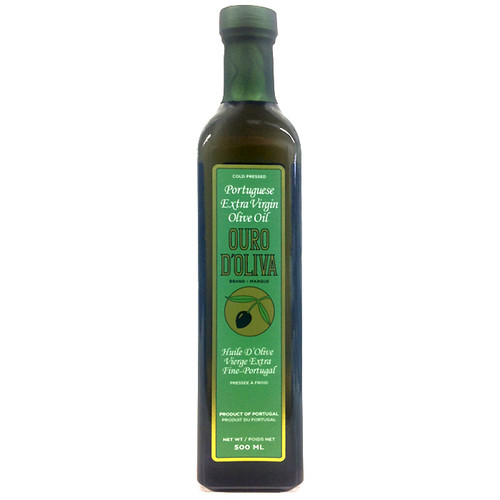 Cold Pressed Extra Virgin Olive Oil - Portugal, 500ml