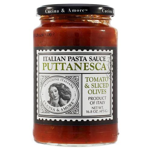 Puttanesca Tomato & Olive Pasta Sauce, 16.8oz