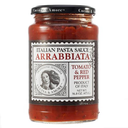 Arrabiata Tomato & Red Pepper Pasta Sauce, 16.8oz