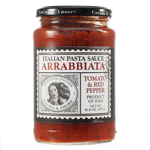 Arrabiata Tomato & Red Pepper Pasta Sauce, 16.8oz