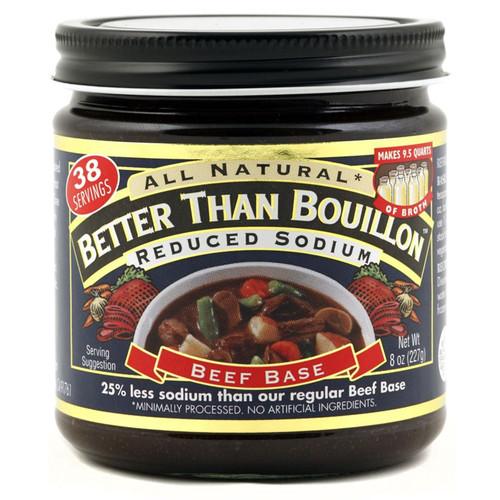 Beef Base Low Sodium, 227g