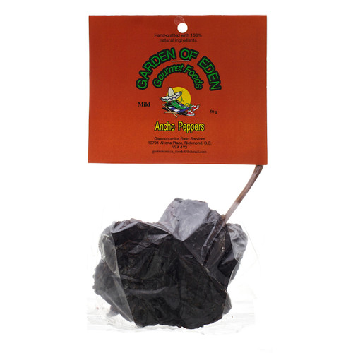 Ancho Peppers - Whole, 50g
