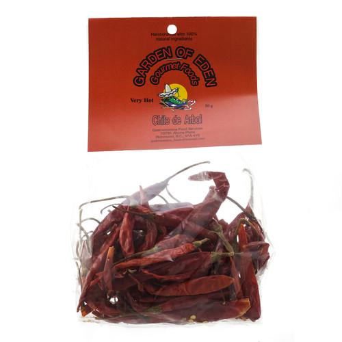 Chili de Arbol - Whole, 50g