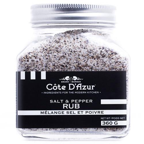 Salt & Pepper Rub, 360g