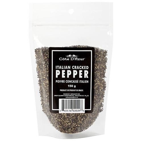 Italian Cracked Pepper, 150g