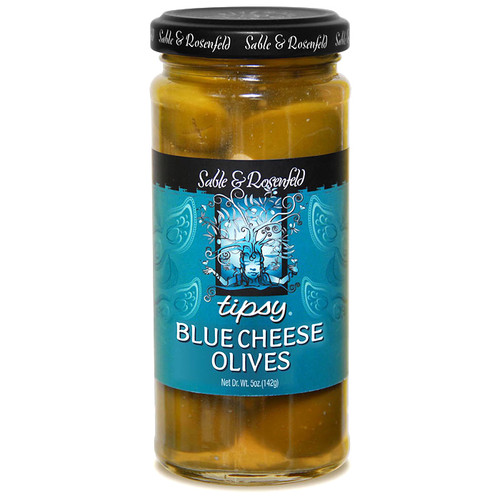 Blue Cheese Stuffed Tipsy Olives, 250ml