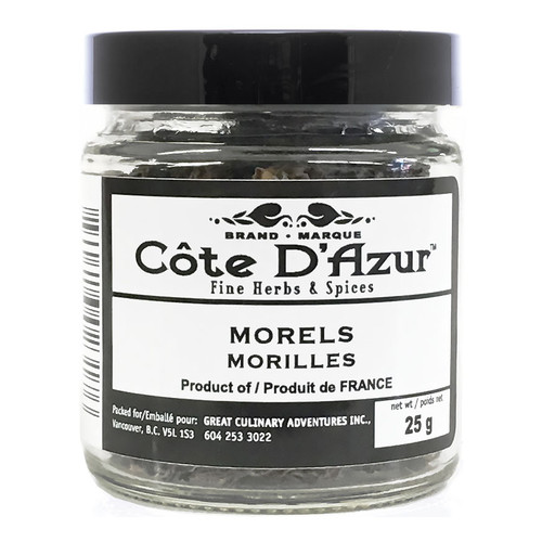 Dried Small Morel Mushrooms - France, 25g