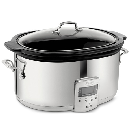 Slow Cooker - Black Ceramic Insert, 6.5Qt