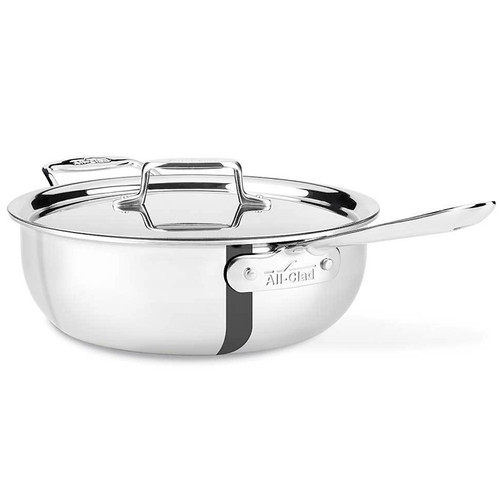 Essential Pan - D5 Polished Stainless, 4Qt