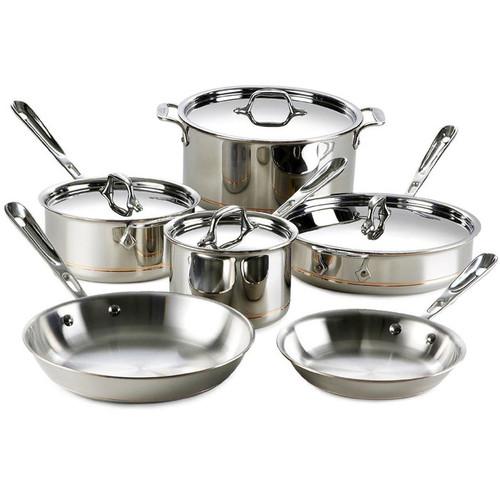 Cookware Set - Copper Core 5-Ply, 10 Piece