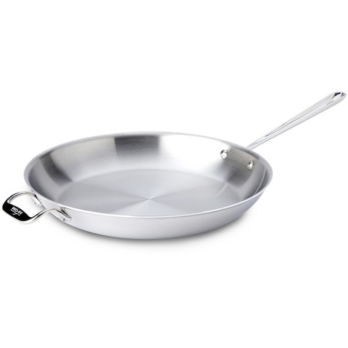 Fry Pan - Tri-Ply Stainless Steel, 14-in