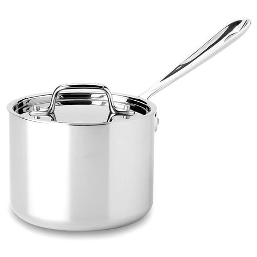 Saucepan - Tri-Ply Stainless Steel, 2Qt
