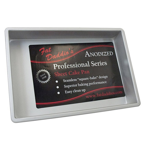 Sheet Cake Pan, 8 x 12 x 2-in