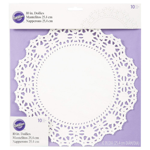 Doilies - 10-in Round, Pack of 10