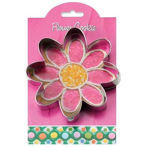 Flower Cookie Cutter, 4.37-in