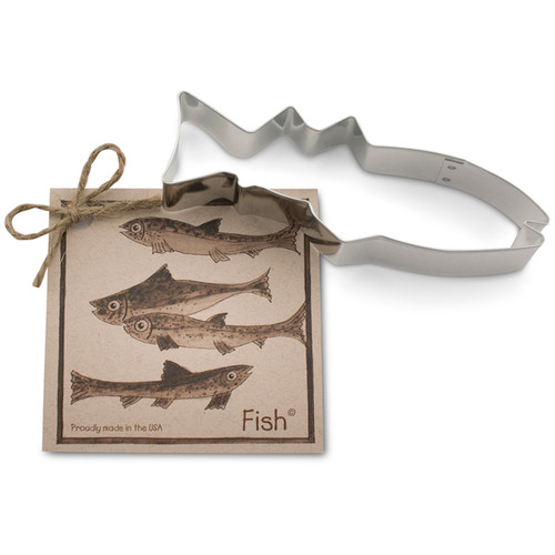 Fish Cookie Cutter - Traditional, 5.5-in