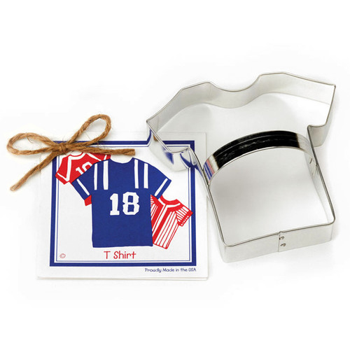 T Shirt Cookie Cutter - Traditional, 4.5-in