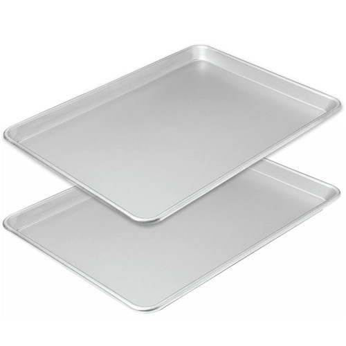 Jelly Roll Pan Uncoated - Set of 2, 17 x 12.25-in