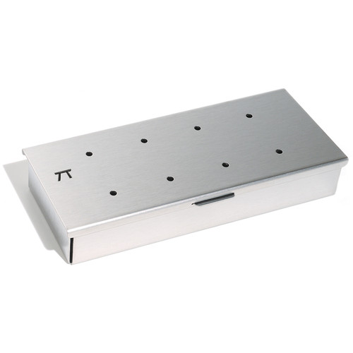 Wood Chip Smoker - Stainless Steel, 22.5 x 10cm
