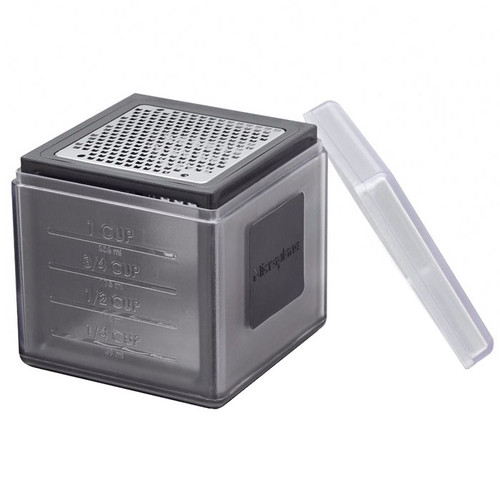 Cube Grater Black - 3 Blades, 3.2-in