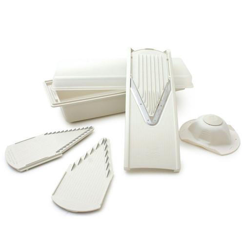 V-Prep Mandoline Slicer with Storage Box