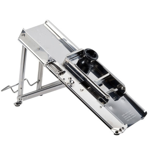 Professional Mandoline with Guard - Stainless Steel