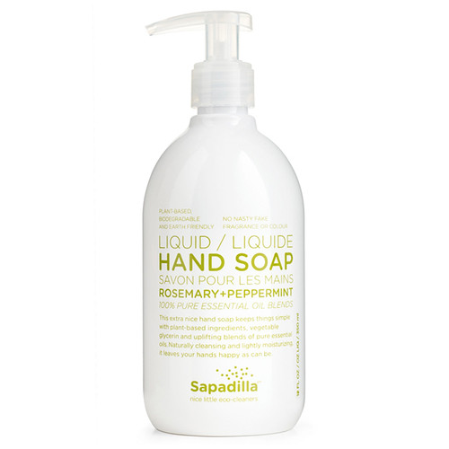 Hand Soap - Rosemary + Peppermint, 350ml