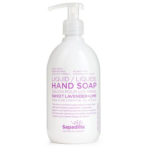 Hand Soap - Sweet Lavender + Lime, 350ml