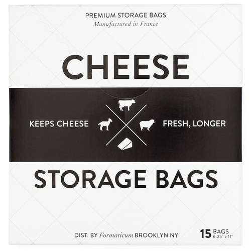 Cheese Storage Bags, Pack of 15