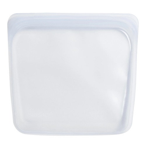 Reusable Silicone Storage Bag - Regular, Clear