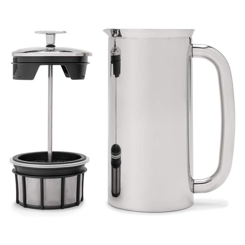 French Press Stainless - Vacuum Insulated, 18oz