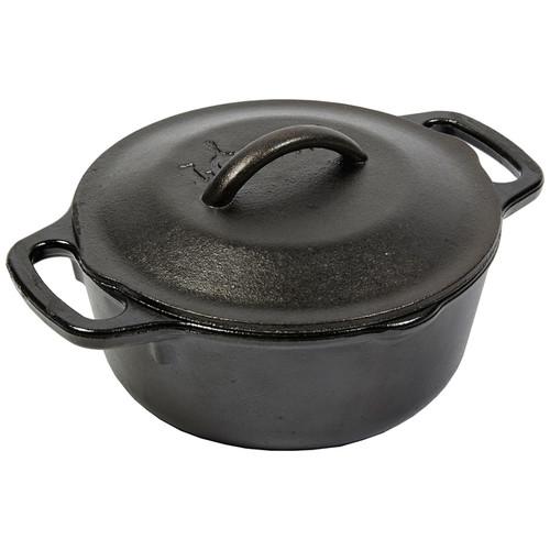 Serving Pot - Pre-Seasoned Cast Iron, 1Qt