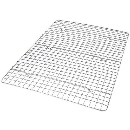 Half Sheet Nonstick Cooling Rack , 16.8x11.5-in
