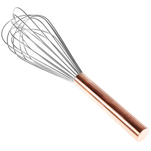 Balloon Whisk with Copper Handle, 12-in