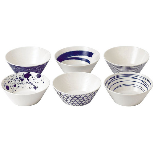 Pacific - 6.2-in Assorted Bowls, Set of 6