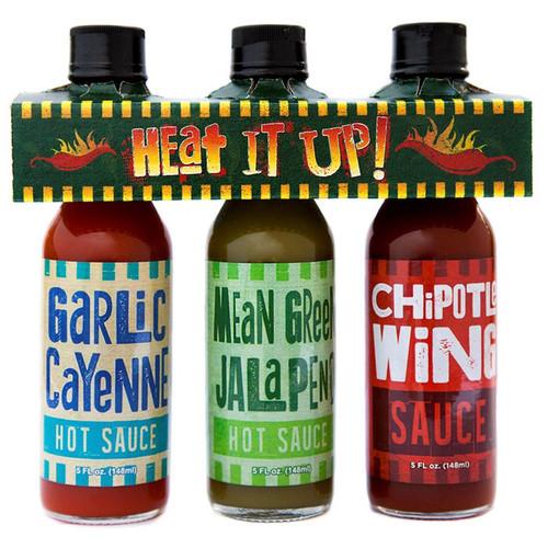 Heat It Up! Hot Sauce, 3 Pack