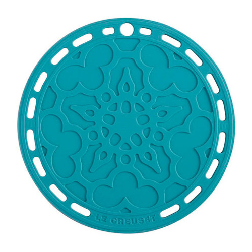 Caribbean Silicone French Trivet, 8-in