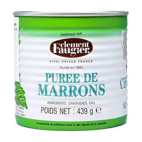 Chestnut Marrons Puree - Unsweetened, 439g