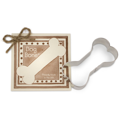 Dog Bone Cookie Cutter - Traditional, 3.5-in