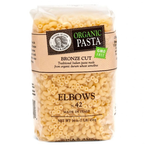 Elbows Pasta # 42 - Organic, 454g
