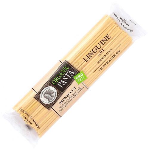 Linguine Pasta # 91 - Organic, 454g