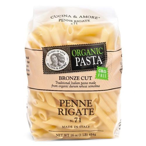 Penne Rigate Pasta # 71 - Organic, 454g